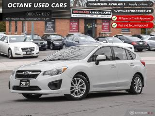 Used 2013 Subaru Impreza 2.0i Touring Package Accident-Free! Certified! AWD! for sale in Scarborough, ON