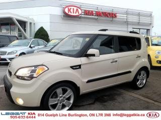 Used 2011 Kia Soul CLEAN CARFAX ,FULLY CERTIFIED SUNROOF, MOOD LIGHTS, POWER WINDOWS/DOORS/MIRRORS for sale in Burlington, ON
