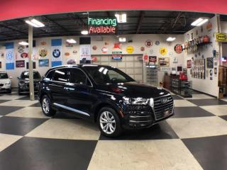 Used 2017 Audi Q7 3.0T AWD 7PASSENGERS NAVI LEATHER PANO/ROOF 360 CAMERA for sale in North York, ON