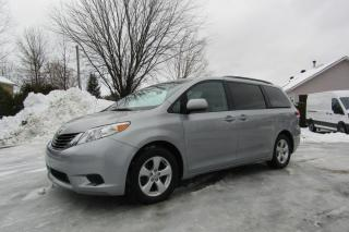 Used 2012 Toyota Sienna 5 portes V6 LE 8 places Traction avant for sale in Thetford Mines, QC