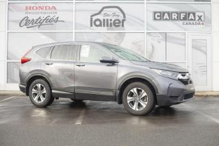 Used 2017 Honda CR-V LX AWD ***GARANTIE GLOBALE JUSQU EN FEVR for sale in Québec, QC