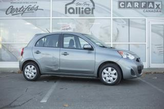 Used 2012 Toyota Yaris **CECI EST UN NISSAN MICRA 2015** for sale in Québec, QC