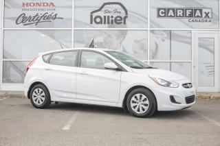 Used 2015 Honda Fit **CECI EST UN HYUNDAI ACCENT GL 2017** for sale in Québec, QC