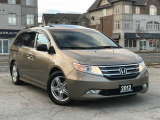Used 2012 Honda Odyssey Touring|Navi|Leather|Sunroof|DVD|Rear Camera for sale in Burlington, ON