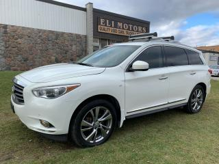 Used 2014 Infiniti QX60 PREMIUM TECHNOLOGY PKG  NAVI  TV-DVD for sale in North York, ON