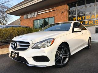 Used 2014 Mercedes-Benz E-Class E300 4MATIC Sunroof Heated Seats Rear Cam Certi* for sale in Concord, ON