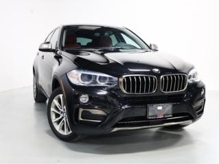 Used 2018 BMW X6 xDrive35i   WARRANTY   RED LEATHER   SUNROOF   NAV for sale in Vaughan, ON
