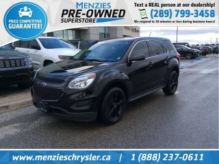 Used 2016 Chevrolet Equinox LS AWD, Bluetooth, Cam, Sirius, Clean Carfax for sale in Whitby, ON