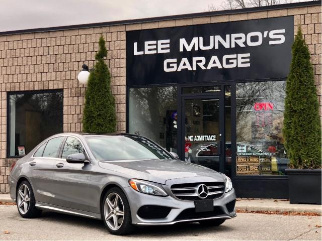 2016 Mercedes-Benz C-Class 4dr Sdn C 300 4MATIC with AMG Sport Pkg