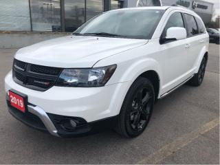 Used 2019 Dodge Journey CrossRoad AWD w/Leather, Sunroof, Navi, DVD for sale in Hamilton, ON