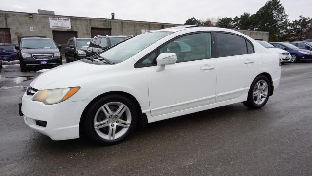 2008 Acura CSX TOURING AUTO CERTIFIED 2YR WARRANTY *FREE ACCIDENT* PADDLE SHIFTERS SUNROOF CRUISE HEATED LEATHER AUX ALLOYS