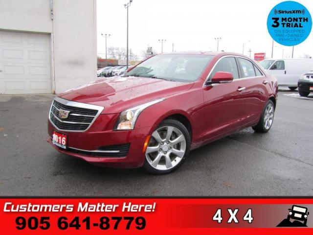2016 Cadillac ATS 3.6 Luxury Collection  V6 AWD ROOF LEATH