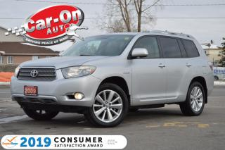 Used 2009 Toyota Highlander HYBRID Limited AWD 7 SEAT LEATHER NAV REAR CAM LOADED for sale in Ottawa, ON