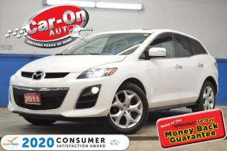 Used 2011 Mazda CX-7 GT AWD LEATHER NAV SUNROOF REAR CAM HTD SEATS LOAD for sale in Ottawa, ON