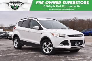 Used 2015 Ford Escape SE - Roof Rack, Bluetooth, Backup Camera for sale in London, ON