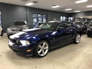 Used 2010 Ford Mustang GT*MANUAL*LEATHER SEATS*NAVIGATION*BACK-UP CAMERA* for sale in North York, ON