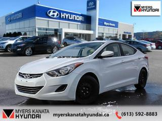 Used 2013 Hyundai Elantra GL  - $79 B/W for sale in Kanata, ON