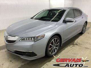 Used 2015 Acura TLX V6 SH-AWD MAGS CUIR TOIT SIÈGES CHAUFFANTS for sale in Trois-Rivières, QC