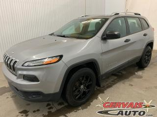 Used 2016 Jeep Cherokee Sport V6 4x4 MAGS Caméra de recul Volant chauffant Ensemble Temps Froid for sale in Shawinigan, QC
