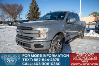 New 2020 Ford F-150 Lariat Equipment Group 502A (inc: Voice-Activated Navigation, Heated Seats, Heated Steering Wheel, B&O Soun for sale in Okotoks, AB