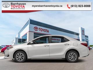 Used 2017 Toyota Corolla CE  - Bluetooth - $122 B/W for sale in Ottawa, ON