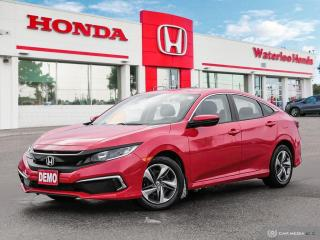 Used 2019 Honda Civic LX Demonstrator! Save Freight and PDI! for sale in Waterloo, ON