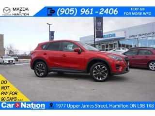 Used 2016 Mazda CX-5 GT | LEATHER | SUNROOF | NAV | XM RADIO | AWD for sale in Hamilton, ON