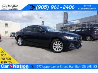 Used 2016 Mazda MAZDA6 GS | 6 SPEED | HEATED SEATS | REAR CAM | ALLOYS for sale in Hamilton, ON