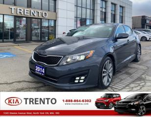 Used 2014 Kia Optima SX Turbo SX TURBO | ONE OWNER | NO ACCIDENT | NAVIGATION for sale in North York, ON