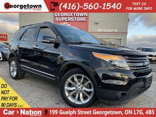 Used 2015 Ford Explorer Limited | 4WD | LEATHER | NAVI BU CAM | 7 PASS|B/T for sale in Georgetown, ON