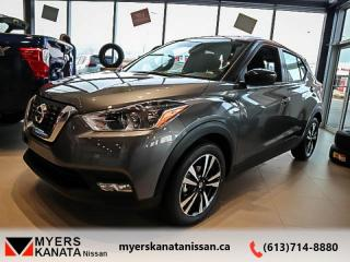New 2019 Nissan Kicks SV FWD  -  Alloy Wheels -  Fog Lights - $162 B/W for sale in Kanata, ON