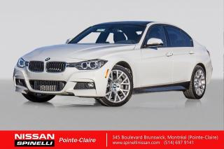 Used 2015 BMW 3 Series 328i xDrive ENSEMBLE SPORT M. PACKAGE / xDrive / CUIR ROUGE / GPS for sale in Montréal, QC