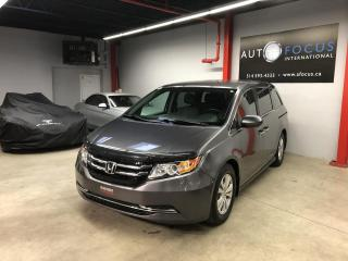 Used 2015 Honda Odyssey EX, 75000KM, 8 PASSAGERS, CAMERA DE RECU for sale in Montréal, QC