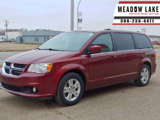 Used 2018 Dodge Grand Caravan Base  - Leather Seats - $162 B/W for sale in Meadow Lake, SK