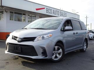 Used 2018 Toyota Sienna Quad Seating, Bluetooth, Pre-Collision Warning for sale in Vancouver, BC