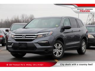 Used 2016 Honda Pilot 4WD 4DR LX for sale in Whitby, ON