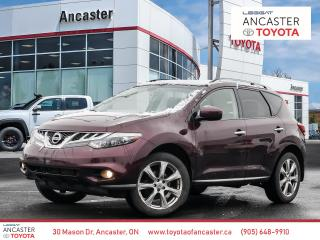 Used 2014 Nissan Murano PLATINUM - NAVI|LEATHER|CAMERA|BLUETOOTH for sale in Ancaster, ON