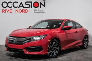 Used 2016 Honda Civic LX BLUETOOTH+A/C+GR.ELECTRIQUE for sale in Boisbriand, QC