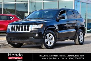 Used 2011 Jeep Grand Cherokee LAREDO CUIR BAS KM AUTO AC 4X4 CUIR CAM RECUL BLUETOOTH++ for sale in Lachine, QC