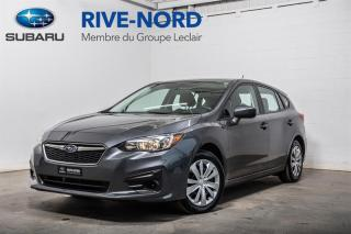 Used 2019 Subaru Impreza Convenience BLUETOOTH+CAM.RECUL+APPLE.CARPLAY for sale in Boisbriand, QC