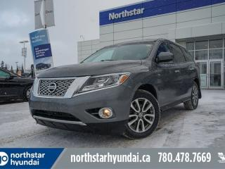 Used 2015 Nissan Pathfinder S AWD/7PASS/HEATEDSEATS/CRUISE/AC/BLUETOOTH for sale in Edmonton, AB