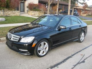 Used 2011 Mercedes-Benz C-Class C300, LOW KMS, CERTIFIED, NO ACCIDENTS, WARRANTY for sale in Toronto, ON