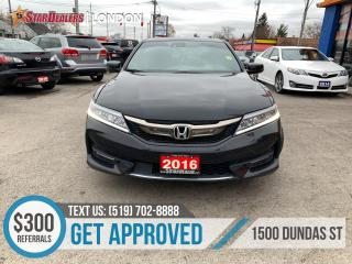 Used 2016 Honda Accord Coupe for sale in London, ON