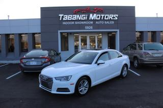 Used 2017 Audi A4 QUATTRO I NO ACCIDENTS I LEATHER I SUNROOF I HEATED SEATS for sale in Mississauga, ON