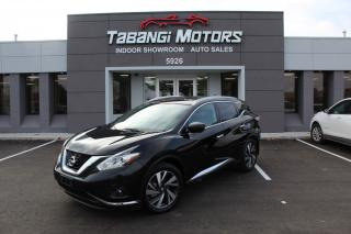 Used 2017 Nissan Murano PLATINUM I NAVIGATION I 360 CAM I PANOROOF I LEATHER I BT for sale in Mississauga, ON