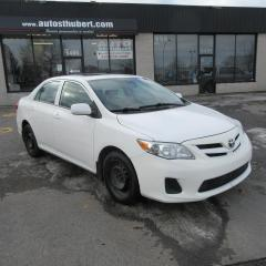 Used 2013 Toyota Corolla CE for sale in St-Hubert, QC