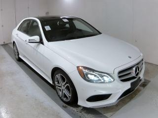 Used 2015 Mercedes-Benz E-Class 4dr Sdn E400 4MATIC for sale in Oakville, ON
