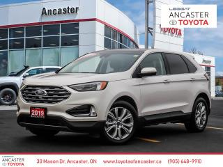 Used 2019 Ford Edge TITANIUM - NAVI|SUNROOF|LEATHER|BACKUP CAMERA for sale in Ancaster, ON