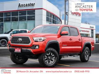 Used 2018 Toyota Tacoma TRD OFFROAD - LOW KMS|NAVI|BACKUP CAMERA|BLUETOOTH for sale in Ancaster, ON