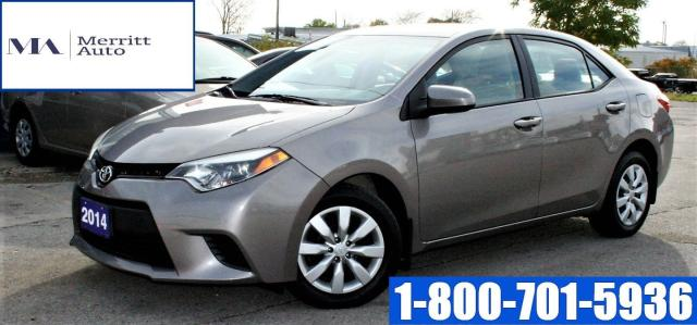 2014 Toyota Corolla LE | 1 OWNER| BACK UP CAMERA| HEATED SEATS
